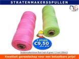 Stratenmakerstouw-2-rolletjes-200m-budget-roze-of-groen-touw