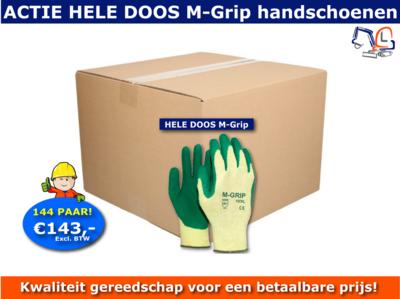 Handschoenen M-Grip volle doos Actie (144 PAAR)