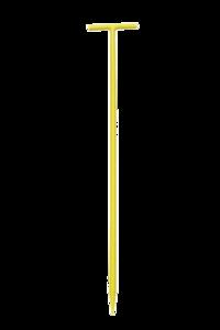 Draadpen geel T-kop (60cm)