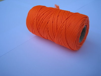 Stratenmakerstouw oranje 1.5 mm
