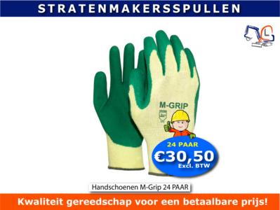 M-Grip handschoen Actie 24 PAAR