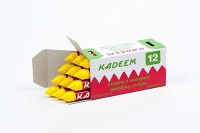 Merkkrijt Kadeem geel