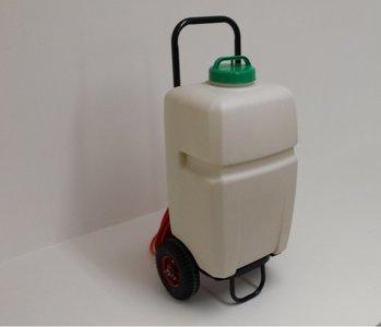 Elektrische watertank L35 op accu met wielen Actie prijs !!