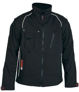 M-Wear 6101 softshell jas uitritsbare mouwen